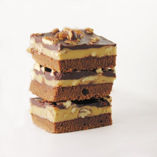 Praline Fudge Brownies4