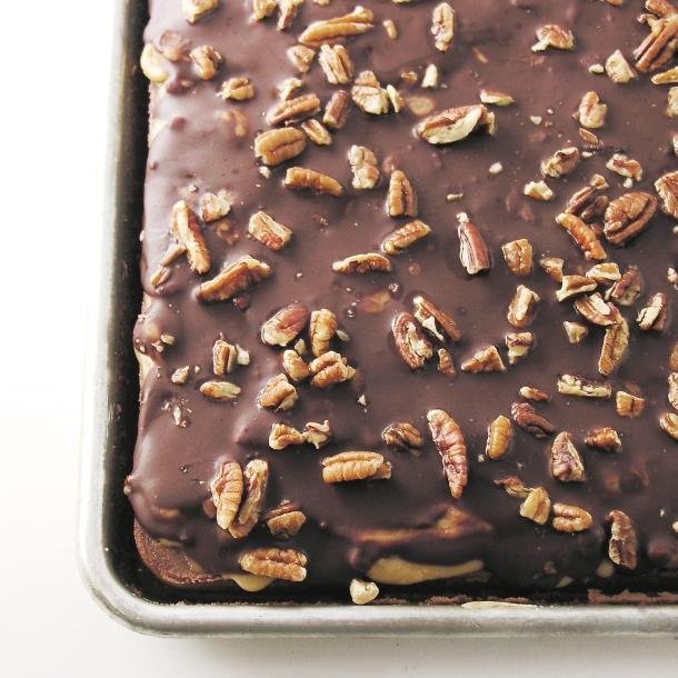 Praline Fudge Brownies7