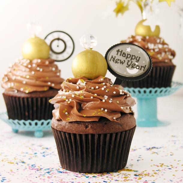 Ball drop Cupcakes7