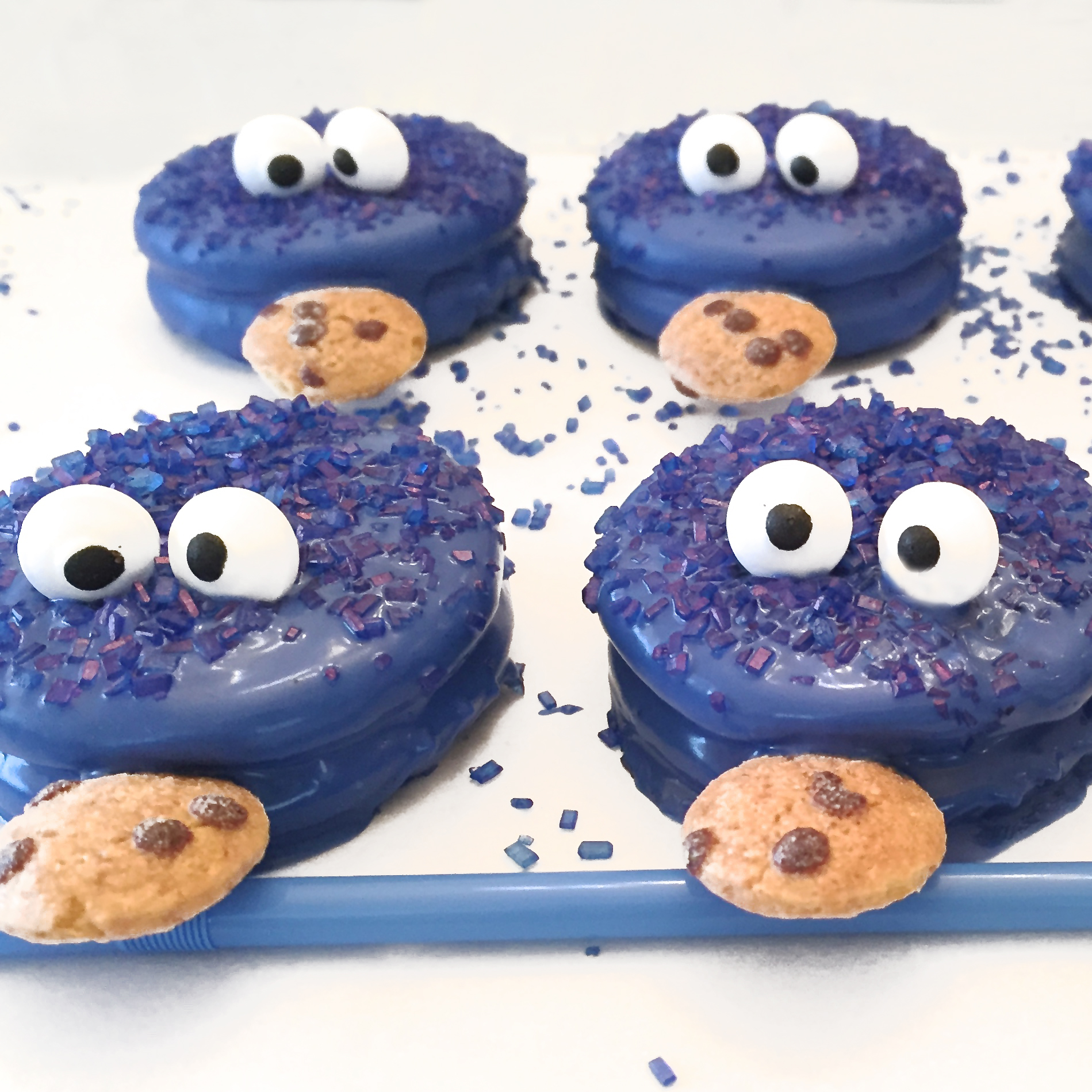 Cookie Monster Oreos – Cookie Monster Valentine Cards