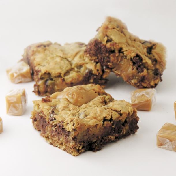 Caramel Oatmeal Bars2