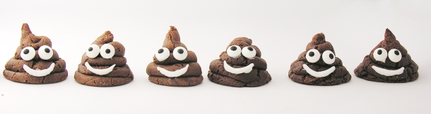 Chocolate Poo Emoji Cookies3