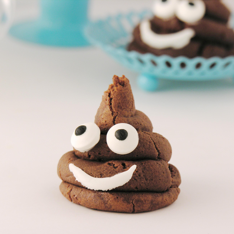 How To Make An Emoji Poop Cake