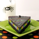 spiderweb brownie
