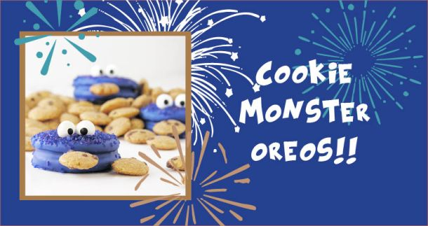 Cookie Monster Oreos!