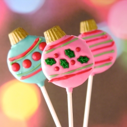 Oreo Ornament Pops
