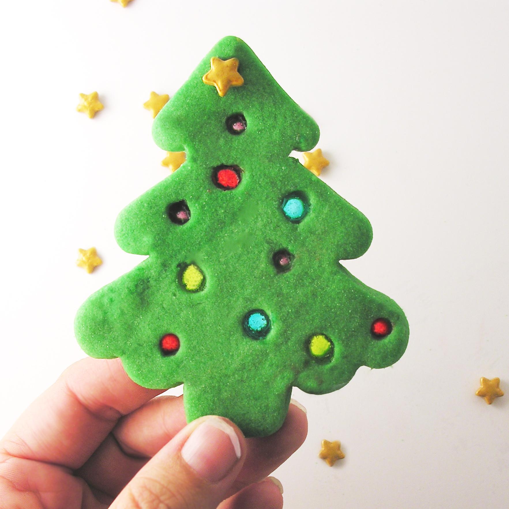 christmas tree cookies | eASYbAKED