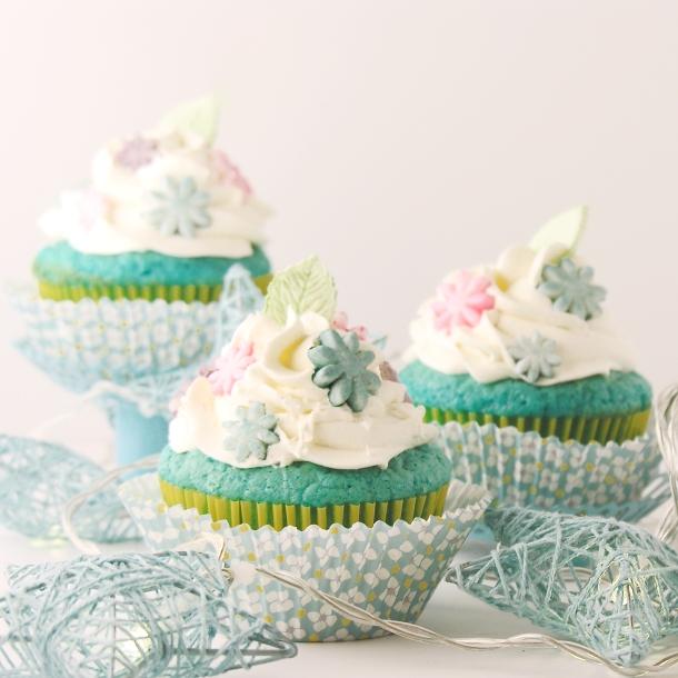 Winter Garden Cupcakes