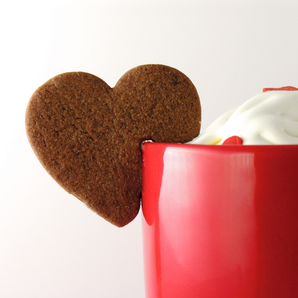 Valentine Mug hanging cookie