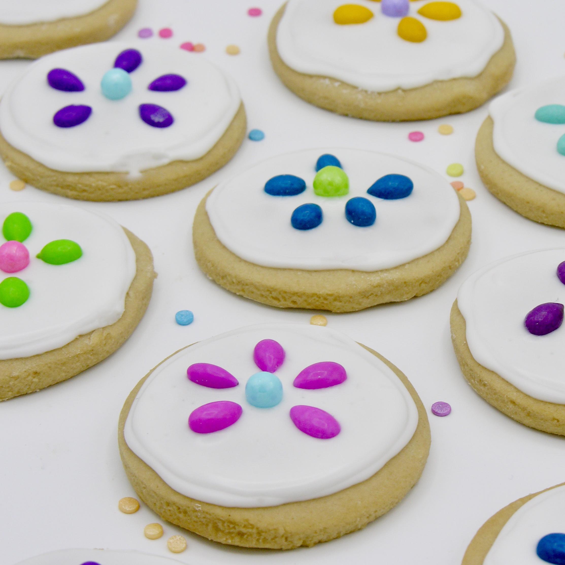 Flower cookies6